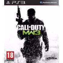 Ps3 - Call Of Duty Modern Warfare 3 - Disco Original