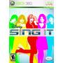 Jogo Novo Lacrado Disney Sing It + Microfone Para Xbox 360
