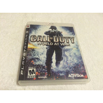 Call Of Duty World At War (sony Playstation 3, 2008)