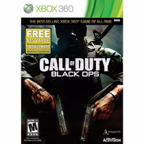 Call Of Duty Black Ops Xbox 360 Original/lacrado