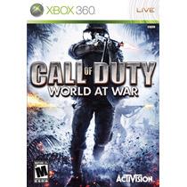 Jogo Call Of Duty World At War Xbox 360