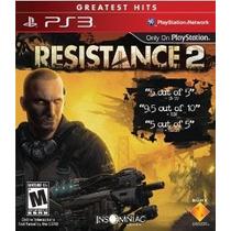 Jogo Resistance 2 - Novo Original