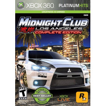 Midnight Club Los Angeles (complete Edition) - Xbox 360
