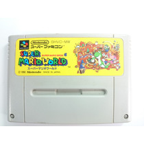 Cartucho Super Nintendo\famicom - Super Mario World