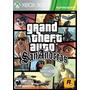 Gta San Andreas Xbox 360 Original *** Mídia Física ***