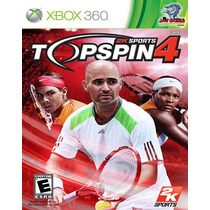 Xbox 360 - Top Spin 4