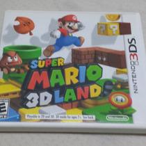 Frete Grátis Super Mario 3d Land Jogo Nintendo 3ds