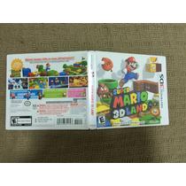 Super Mario 3d Land Em Excelente Estado!!!