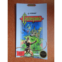 Label Etiqueta Castlevania Nintendinho - Nes 100% !