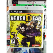 Jogo Never Dead Playstation 3, Original, Lacrado