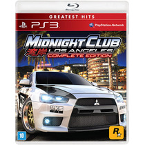 Midnight Club: Los Angeles Complete Edition - Ps3 - S. G.