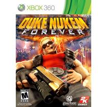Duke Nukem Forever Xbox 360 Novo Lacrado Original A6377