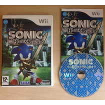 Wii: Sonic And The Black Knight Americano Completo! Jogaço!