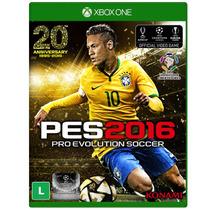 Jogo Pro Evolution Soccer 2016 (pes 16) Para Xbox One (xone)