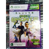 Jogo Kinect Sports Xbox 360 Legendas Em Português, Lacrado