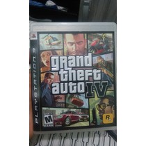 Gta Iv - Grand Theft Auto Iv - Ps3 - Completo