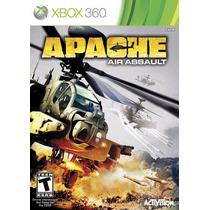 Jogo Apache Air Assault Original Para Xbox 360 A6424