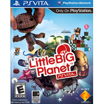 Jogo Game Little Big Planet Ps Vita Sony Origina Lacrado