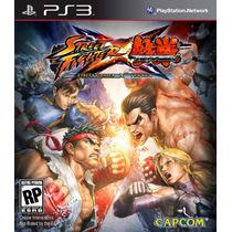 Street Fighter Vs Tekken Ps3 Mídia Física | *** Com Garantia