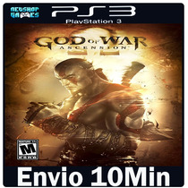 God Of War Ascension [ Psn Ps3 Play3 ]--> Jogo Midia Digi