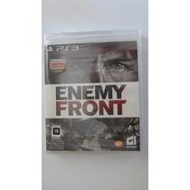 Enemy Front Ps3 Mídia Física - Novo E Lacrado