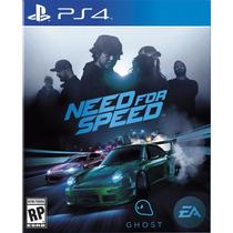 Need For Speed Ps4 Primária Original C/ Garantia Em Pt/br
