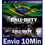 Call Of Duty Black Ops 2 Digital Ps3 - Psn Cod Bo2 + Dlc Rev