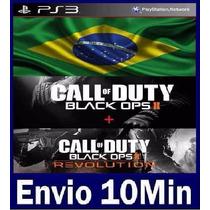 Call Of Duty Black Ops 2 Digital Ps3 - Psn Cod Bo2 + Dlc Rev