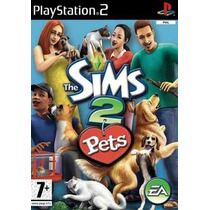 Jogo Ps2 - The Sims 2 Pets