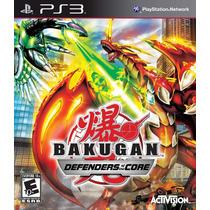 Jogo Ps3 Bakugan Defenders Of The Core Original Lacrado
