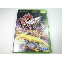 Jogo Xbox Primeira Geração - Crazy Taxi High Roller Completo