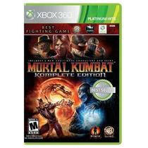 Game X360 Jogo Mortal Kombate Comple