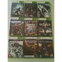 Jogos Xbox Semi Novos Pacote Com 9 Jogos - Gta 5 Farcry 4