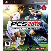 Jogo Pro Evolution Soccer Pes 2013 Português Playstation Ps3