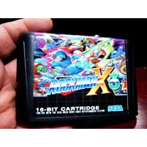 Rockman X3 Megaman Roda Mega Drive 1 2 3 E Japones Sega
