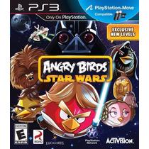 Angry Birds Star Wars Playstation 3 Mídia Física Ps3