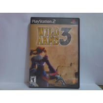 Wild Arms 3 Original, Americano Completo Playstation 2.
