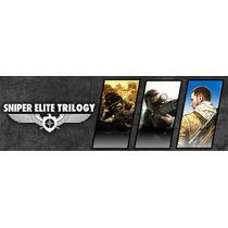 Sniper Elite 1, V2 E 3 Trilogia (pc) - Licença Steam