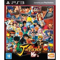 J-stars Victory Vs+ Ps3 Lacrado Legenda Pt-br Rcr Games
