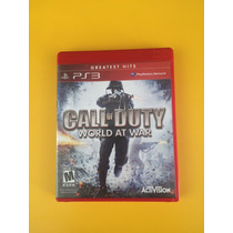Jogo Ps3 Call Of Duty World At War