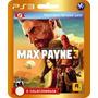 Promoção! Max Payne 3 (código Id Ps3) - Envio Rápido!