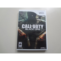 Nintendo Wii - Call Of Duty Black Ops Original Americano