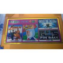 Fita Multijogo Nes 4 Em 1 Bomberman Kung Fu Gradius Pinball