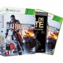 Jogo Xbox 360 Battlefield 4 + Filme Tropa De Elite