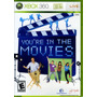 Jogo Novo Lacrado Youre In The Movies Para Xbox 360