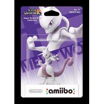 Pronta Entrega! Amiibo Mewtwo Para Nintendo Wiiu 3ds