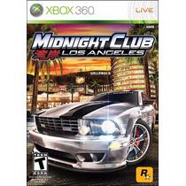 Xbox 360 - Midnight Club Los Angeles - Parcelado Sem Juros