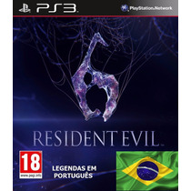 Resident Evil 6 - Legendas Pt - Código Psn
