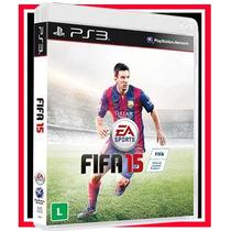 Fifa 2015 Futebol Br Português Ps3 Blu-ray Game Cd Original