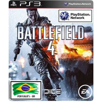 Battlefield 4 Ps3 - Potugues Br (dublado)